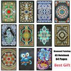 A5 Notebook Crystal Special Shaped 5D Diamond Painting Diary Note Book Xmas Gift