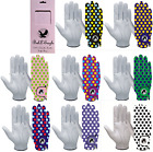 """SPOTTY"" Golf Gloves FULL 100%  LEATHER Glove Mens or Ladies, RIght or Left Hand"
