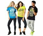 Zumba World Tour Unisex Tee - One Size Fits Most! choose Blue, Green or Black  image