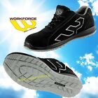 Workforce WF31 Suede Leather Lightweight Safety Trainers with Steel Toecap