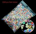 Wholesale Beauty Nail Stickers 3D Fruit Flowers Nail Art Decoration Polymer Clay