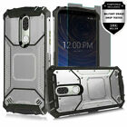 For Coolpad Legacy (Not Go Version) Metal Jacket Ultra Edge Case +Tempered Glass