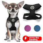 Soft Mesh Dog Harness No-Pull Pet Harness Vest Adjustable Padded Outdoor Walking