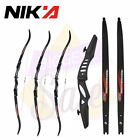 "60"" Recurve Bow NIKA Riser ILF CNC 17""  Fit For Youth& Beginner Shooting Target"