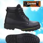 Centek FS331 Safety Boots Steel Toe Cap Black Leather Work Boots