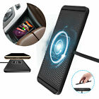 Qi Wireless Car Phone Charger Fast Charging Pad Non-Slip Mat For iPhone Samsung