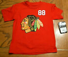 Boys NHL Chicago Blackhawks T-Shirt, Red, #88 KANE, Sizes, NEW $6.99 USD on eBay