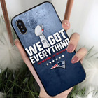 NEW ENGLAND PATRIOTS NFL Phone Case Cover for iPhone XR 8 7 Plus - USA SELLER $9.95 USD on eBay