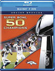 NFL Super Bowl 50 Champions: Denver Broncos [Blu-ray] $17.9 USD on eBay