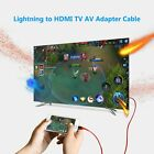 Lightning Connect to HDMI 1080P TV AV Cable Adapter for iPhone X XS 8 7 6 S iPad