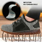 Men's Indestructible Bulletproof Protection Work Labor Shoes Steel Male Toe Boot