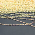 12X Silver Gold Plated Link Chain Necklaces Lobster Clasp Jewellery Making Craft