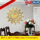 3d Mirror Sun Art Removable Wall Sticker Mural Decals Living Room Decoration