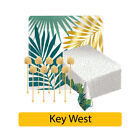 KEY WEST Party Range Tropical Summer Hawaiian Luau Palm Leaf Tableware Birthday