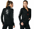 Strong By Zumba Track Jacket - Black  Full Zip  size XS, Small  XL  New