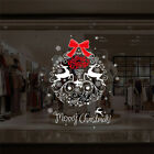 Removable Christmas Vinyl Window Wall Stickers Decal Snowman Home Room Decor Fun
