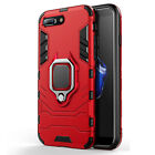 For iPhone XR XS Max 7 8 plus  X Hybrid Magnetic Stand Ring Holder Armor Case