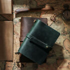 Handmade Crazy Horse Leather Cover Vintage NoteBook Diary Journal Travel Notepad