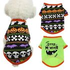 Pet Puppy Halloween Party Clothes Tops Dog Costume Vest T-shirt For All Seasons