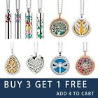 Essential Oil Necklace Pendant Diffuser Perfume Locket Aromatherapy Christm Gift $8.97 USD on eBay