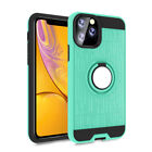 For Apple iPhone 11 Pro Max 2019 Hybrid Rubber Magnetic Ring Holder Armor Case