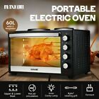 Maxkon 45L/60L Electric Oven Benchtop Convection Oven Toaster Bake w/Hotplates