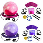 65cm Yoga Ball Balance Trainer with Pump Fitness Stability Exercise Pilates Gym image