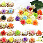 U pick 10/40X Artificial Silk Roses Artificial Flowers Small Fake Floral Heads