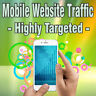 More images of 1,000 Real Visitors HIGHLY TARGETED MOBILE TRAFFIC iOS and / or Android