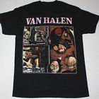 Reprint Fair Warning Van Halen Vintage Cotton Black Men S-2XL T-shirt K526 image