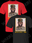 Men's Lebron James China of King Tee T-Shirt Red-Black Men-Women image