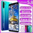 P33 Plus Unlocked Smart Phone 5.0/5.8'' Android 8.1 Hd Camera Dual Sim Mobile