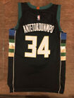 GIANNIS ANTETOKOUNMPO 34 Milwaukee Bucks Men's Basketball Stitched BLACK Jersey on eBay
