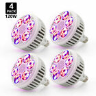 120W Full Spectrum Hydroponic Lamp E27 LED Grow Light Bulb Indoor Garden Plants picture
