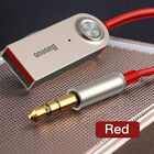 Baseus 3.5mm AUX Audio Wireless Bluetooth 5.0 Adapter for Car/Speaker/Headphone