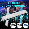 More images of  Harmonica 28 Holes Tremolo Accent Wide Diapason Octave Mouth Key Of C
