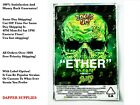 ETHER 8th 3.5g - 7g mylar bags packaging (5-128 packs) label option!