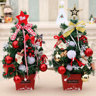 Desk Table Mini Christmas Tree Small Party Xmas Ornament Ctue Home Decoration Ro
