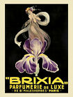 Vie Parisienne Cover Lady Flowers Perfume Brixia Vintage Poster Repro FREE S/H