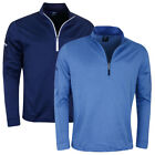 Callaway Golf Mens 2019 Stretch Thermal Insulated 1/4 Zip Sweater 45% OFF RRP