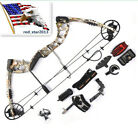 USA JunXing M125 30-70lbs Archery Aluminum Alloy Compound Bow Set W/Accessories