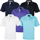 Bobby Jones Mens Lux Mercerized Solid Tailored Golf Polo Shirt 57% OFF RRP