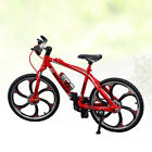 1Pc Bike Model Creative Durable Bicycle Figurine Decor Bike Model for Decoration