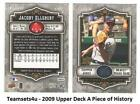 2009 Upper Deck A Piece of History Baseball Set * Pick your Team * See Checklist on Ebay