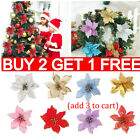 20pcs Christmas Tree Decoration Flower Home Decorations Lovely New Year Decor Ro