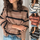 Women Sweater O-Neck Autumn Long Sleeve Pullover Tops Sweater Knitted Jumper Hot