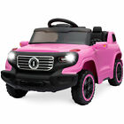 BCP 6V Kids Ride-On Car Truck Toy w/ RC Parent Control, 3 Speeds, Lights, Horn