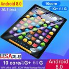 """10.1"""" Wifi 6g+128 Tablet Hd Sim Dual Cameras Gps Android 8.0 Gps Video Player Us"""