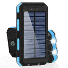 990000mah Outdoor Power Bank Backup Solar Charger Charge suit For Cell Phone