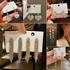 Fashion Women Bohemian Long Tassel Earrings Boho Hook Drop Dangle Fringe Jewelry